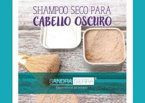 Receta para preparar shampoo seco, ideal para cabello oscuro y para saltar algunos días de lavado en la ducha.