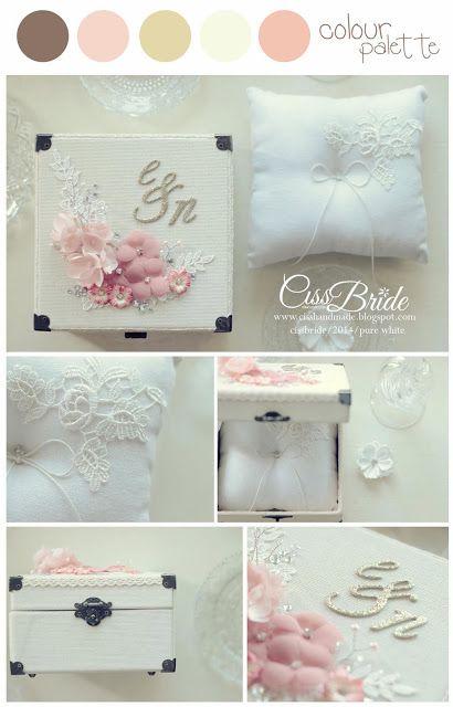wedding ring box & pillow