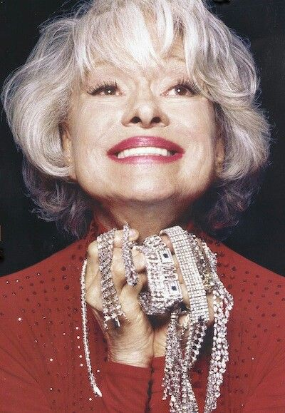 Carol Channing - (January 31, 1921) Fascinating fact. Carol only wears false eyelashes now for special events.  Glueing them on over the years, & ripping them off, caused damage to her eyelids, so today in her 90's she often goes mink-eyelash free. minkshmink.