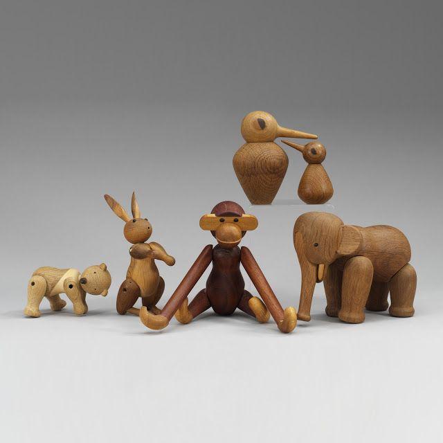 Kay Bojesen Wooden Figures   Stardust Modern Design