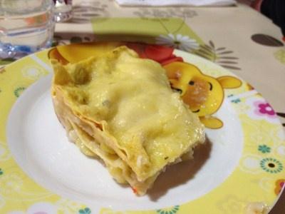 lasagne zucchine e pesce al microonde