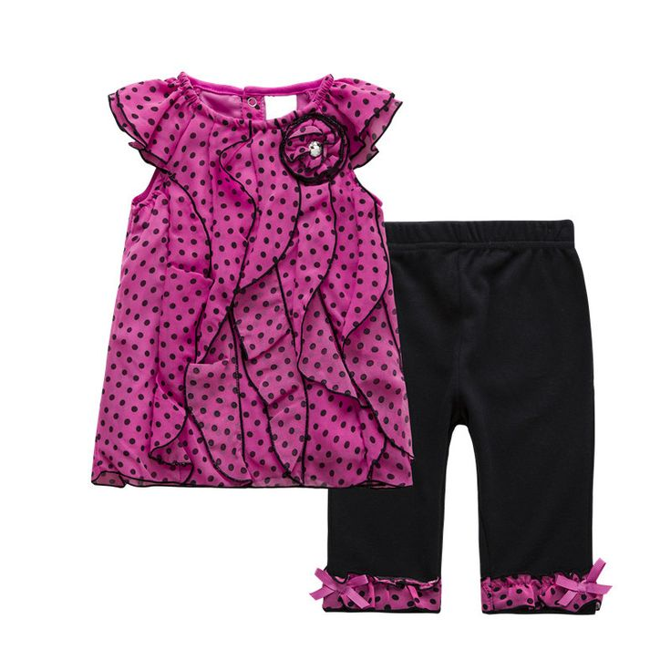 Find More Clothing Sets Information about Summer two sets of round neck flying sleeve ploka dot chiffon shirt +cotton long  trousers suit for girls,High Quality trousers skirt,China trouser clips Suppliers, Cheap suit jacket sport coat from AJT Hi-technology electronics   store on Aliexpress.com