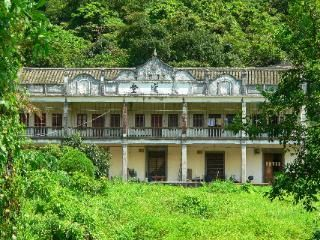 Old mansions in the New Territories of Hong Kong