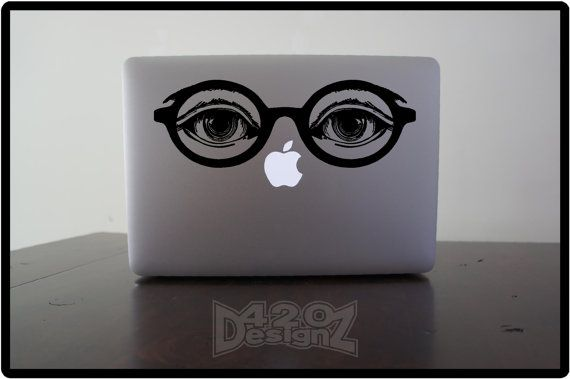 "Dr. T.J. Eckleburg Laptop Decal | 20 Swanky Pieces Of ""Great Gatsby"" Swag You Can Buy Online"
