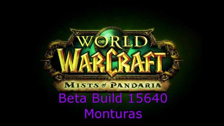 nice NOTICIAS Mist of Pandaria Beta Build15640. Novedades en Castellano