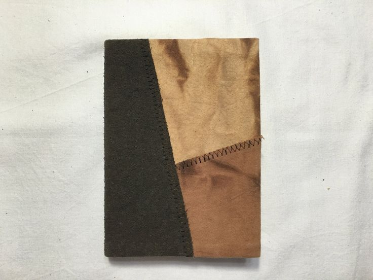 Natural Dyeing Diary Cover (# 1) with Notes by sanchaeg on Etsy