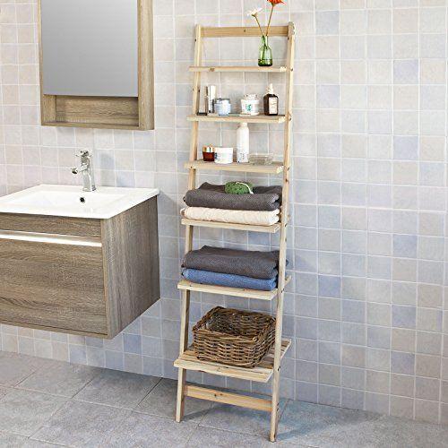 1000 ideas about echelle salle de bain on pinterest ladder nat et nature and armoire de toilette - Etagere Echelle Salle De Bain