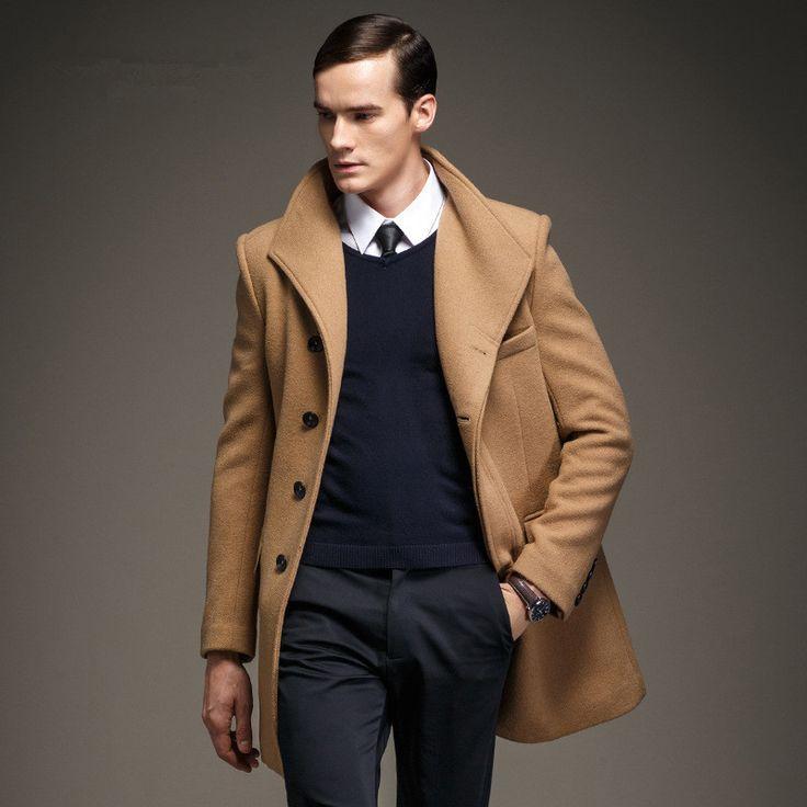 9 color size m 3xl 2015 new winter coat men fashion 50. Black Bedroom Furniture Sets. Home Design Ideas