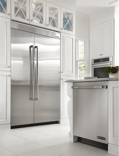"Jenn-Air® 48"" Fully Integrated Built-In Side by Side Refrigerator by Jenn-Air® on HomePortfolio"