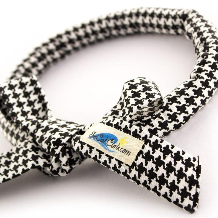 SoCal Curls Hair Tie - Houndstooth, £12