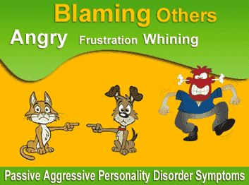 Passive Aggressive Personality Disorder Symptoms