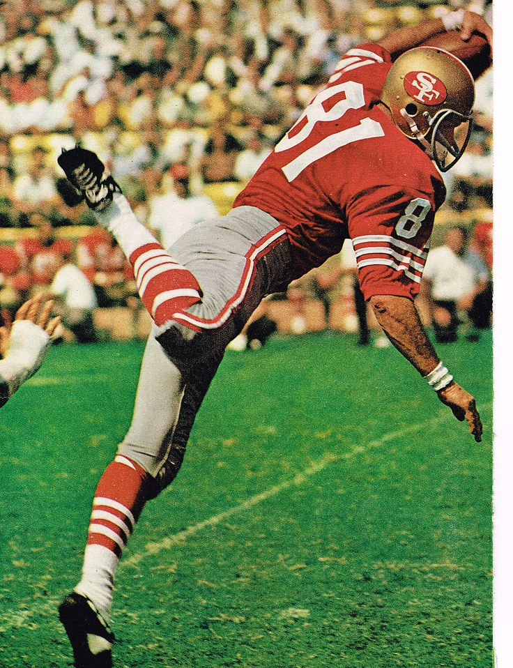 Dave Parks San Francisco 49ers 1964-67, New Orleans Saints 1968-72 and Houston Oilers 1973.