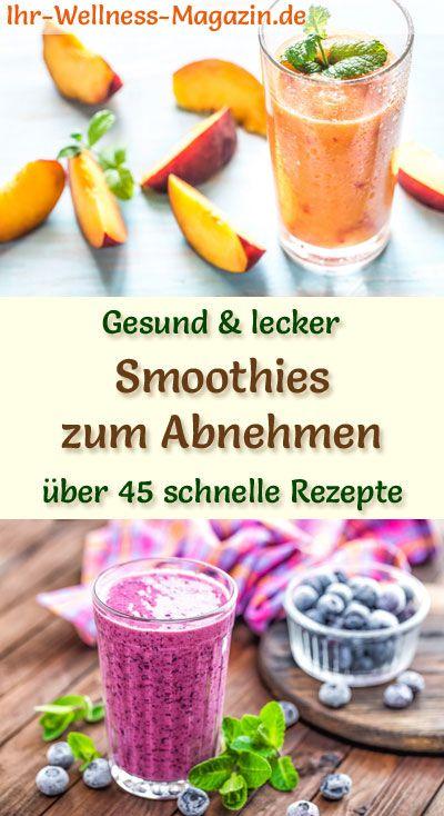 50 gesunde Smoothie-Rezepte zum Abnehmen für Frühstücks-Smoothies und Fr …   – Smoothies & Shake-Rezepte zum Abnehmen