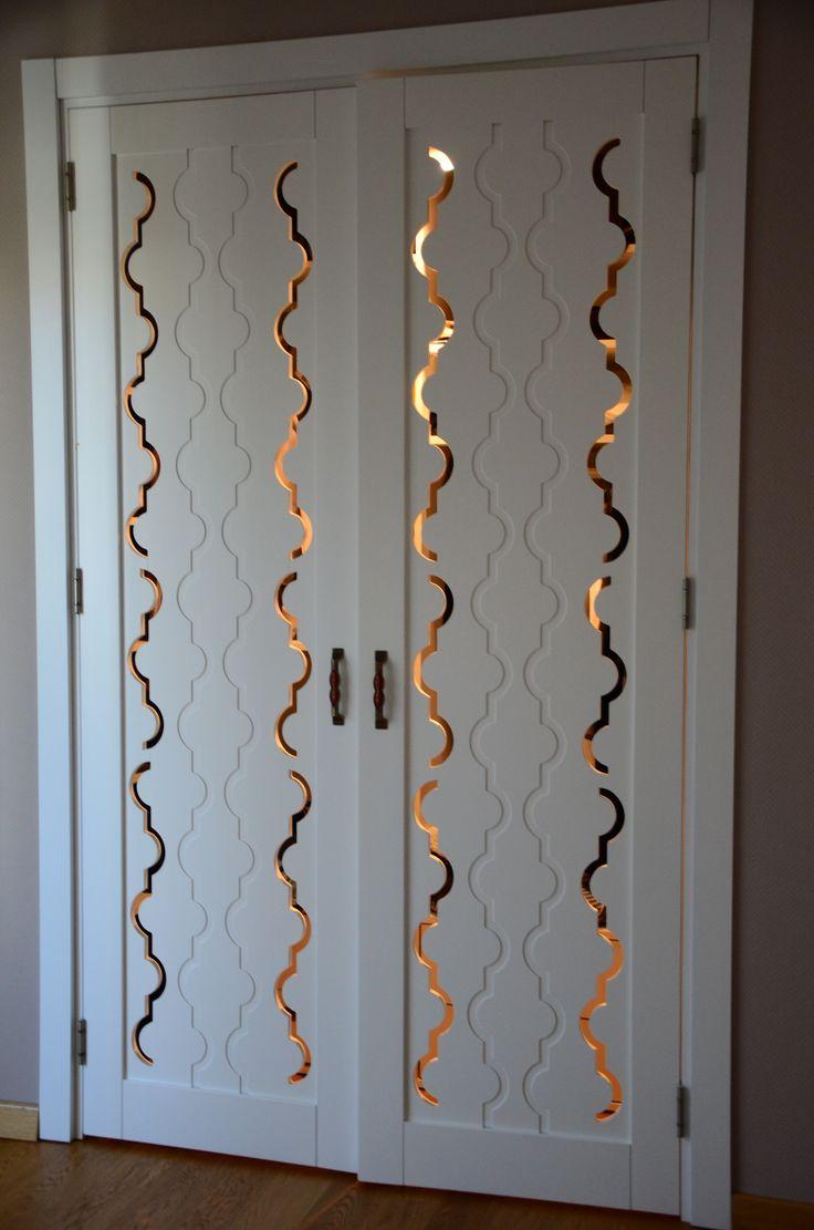 Arte Fabbro #Eskişehir #door #interior #carved #kapı #handle #white #pattern