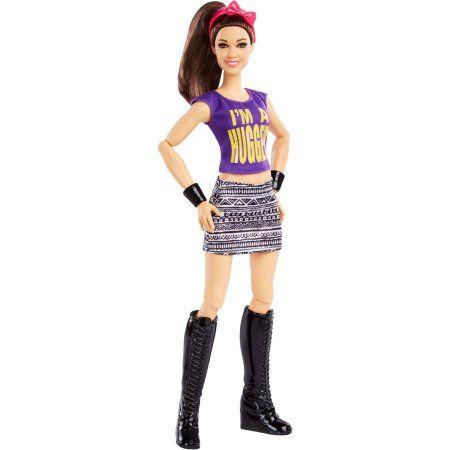 "WWE Superstars BECKY L Doll action figure 12"" Doll Mattel Wrestling Red Hair"