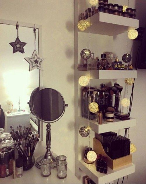 Ansprechende DIY (und Ein Paar Andere) Make Up Organizer   Ideen OK | DIY  Ideenu0026Projekte | Pinterest | Schminktische, Organizer Und Kosmetik