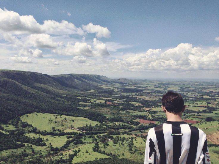 Serra do Chapadão - Rampa de Voo Livre. Pimenta - Minas Gerais
