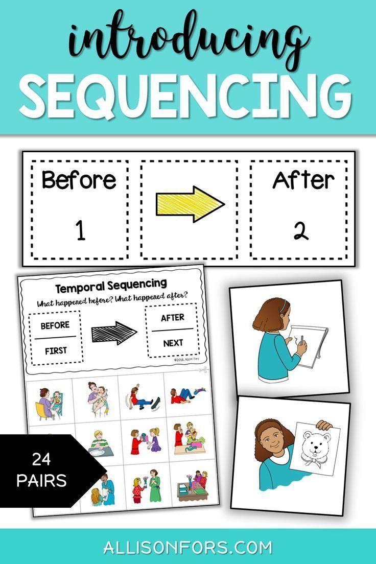 Sequencing Temporal Concepts Cards Allison Fors Speech Therapy Activities Sequencing Activities Therapy Activities [ 1104 x 736 Pixel ]