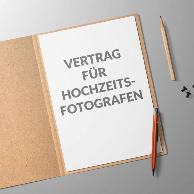 Best 8 Vorlagen / Verträge / Muster für Hochzeitsfotografen ...