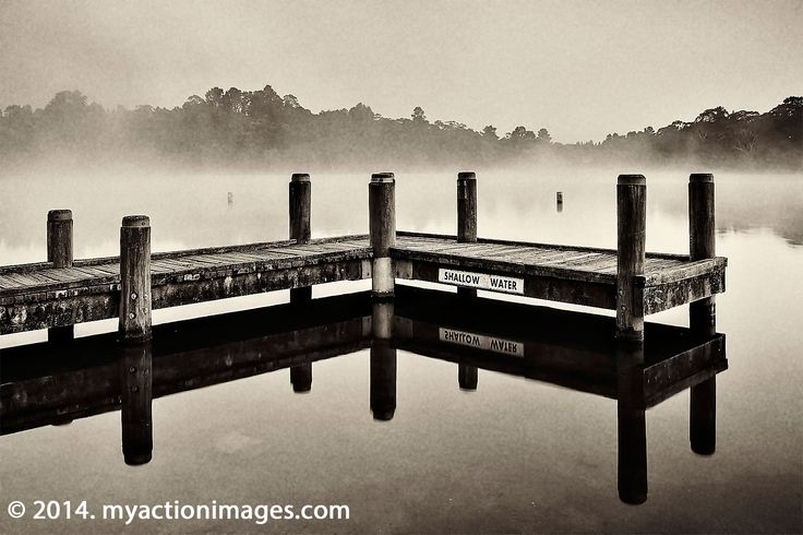 Today's feature image - Jetty on Wentworth Falls Lake, Blue Mountains, NSW, Australia.