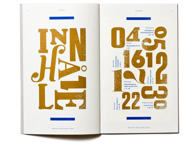 Printing Friends Magazine by Snask, via Behance