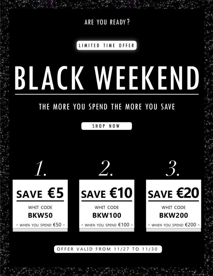 Imperdibili offerte su #bikiniworld con il #black #weekend #deals #superpromo #november #blackfriday #blackweekend