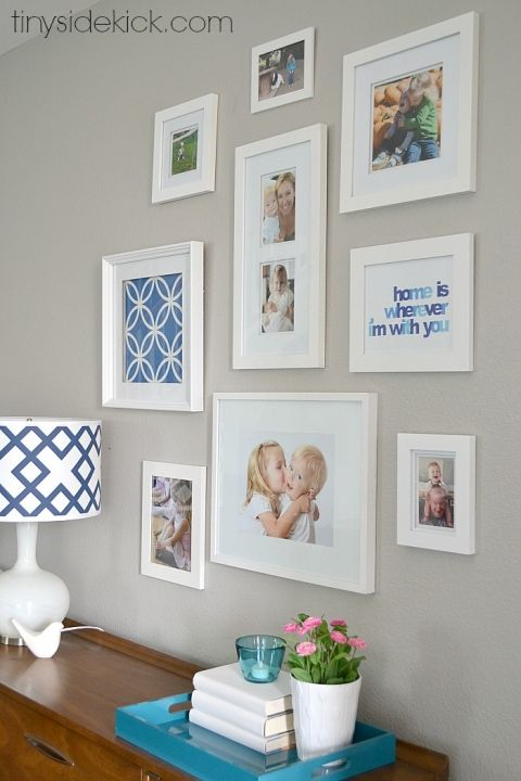How To Hang Multiple Pictures On Wall the 25+ best multiple picture frame ideas on pinterest | collages