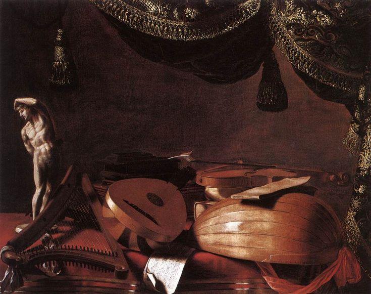 Evaristo-Baschenis-Natura-morta-con-strumenti-musicali-1650-Pinacoteca-di-Brera