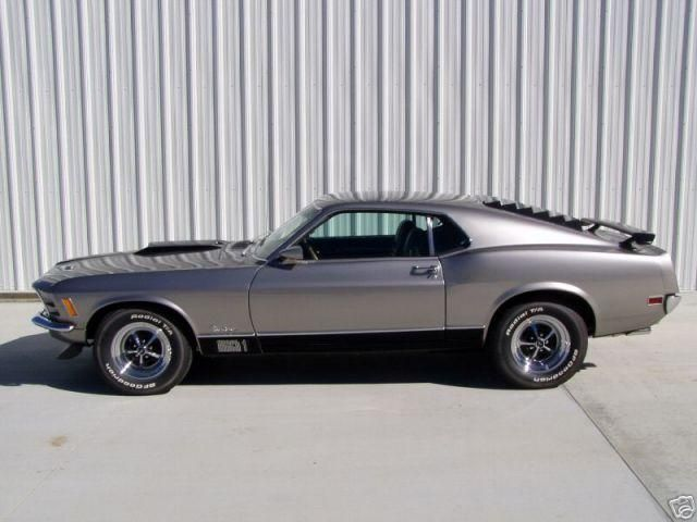 Ford Mustang Mach 1 - 1970