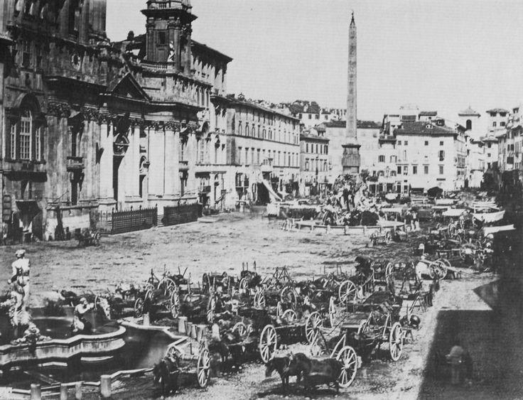 ROMA Sparita - piazza navona 1895