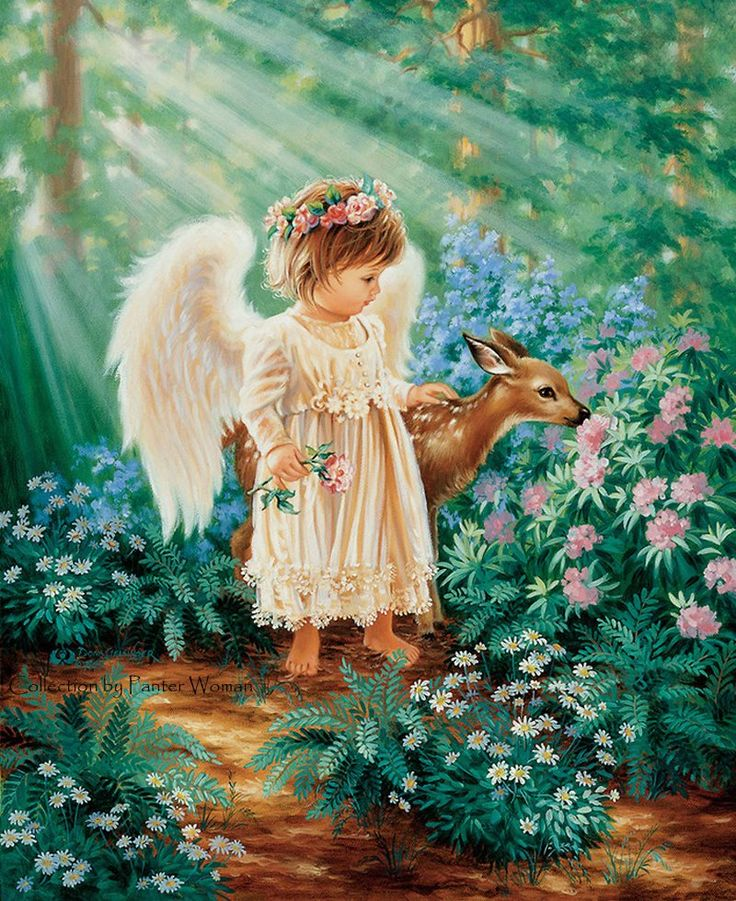 картинки с ангелочками красивые сделать