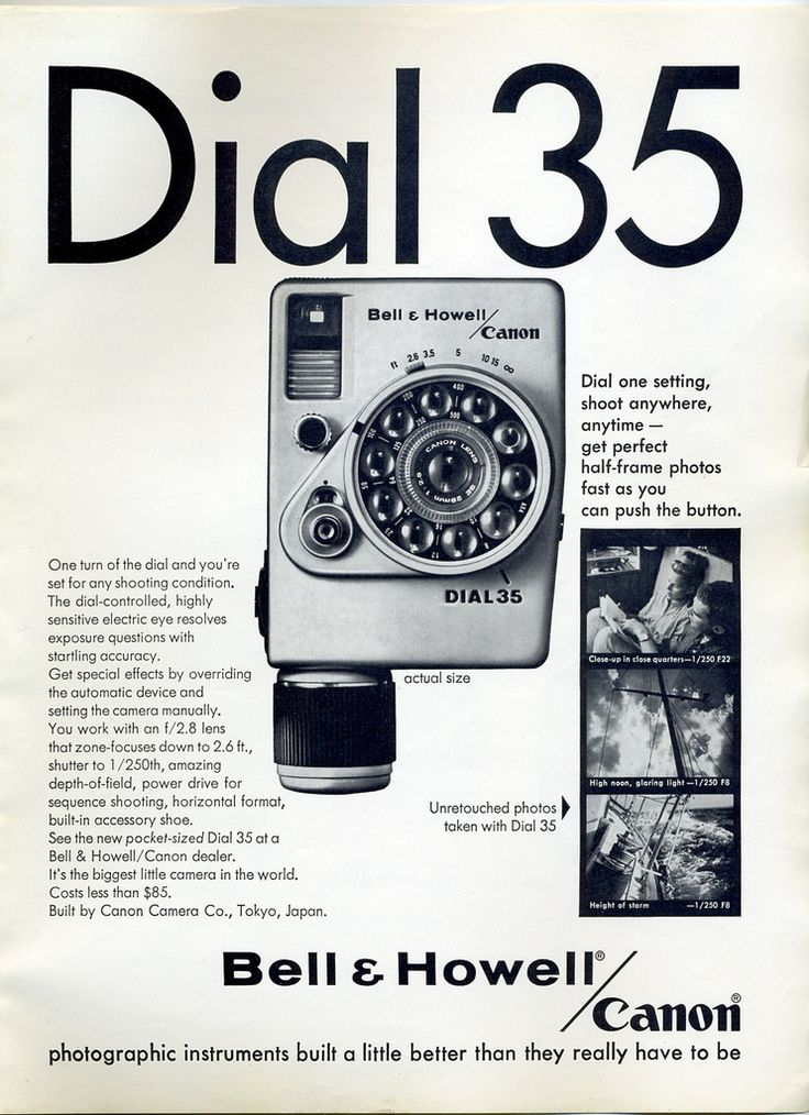 All sizes | Bell & Howell / Canon Dial 35 - 1965 | Flickr - Photo Sharing!