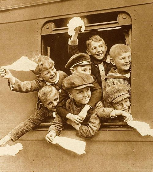 Goodbye, 1929 Heading out to Nebraska or Kansas on the orphan train provided over 200,000 children a second chance at life.