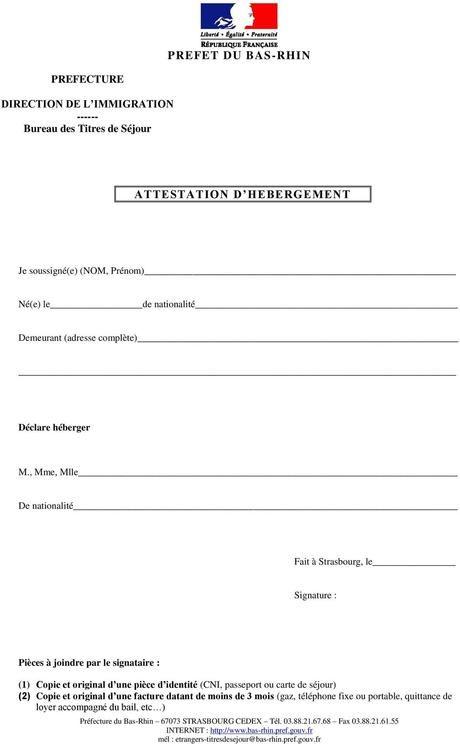 attestation d'hébergement enfant - Paperblog en 2020 | Attestation, Modele attestation, Chiffre ...