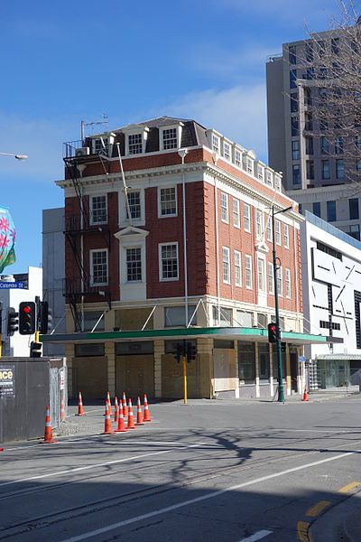 Isaac House, Christchurch - undergoing full restoration and repairs - Opus Architecture