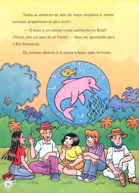 BOTO COR DE ROSA - TURMA DA MONICA - leiturinha III - Álbuns da web do Picasa
