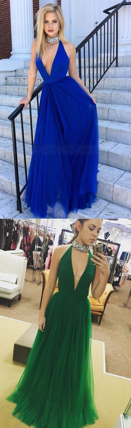 Hot Sexy Deep V-Neck Green Tulle Long Prom/Evening Dress sold by lovingdress. Shop more products from lovingdress on Storenvy, the home of independent small businesses all over the world.