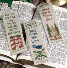Marks of Praise Cross Stitch Bookmark Patterns ePattern