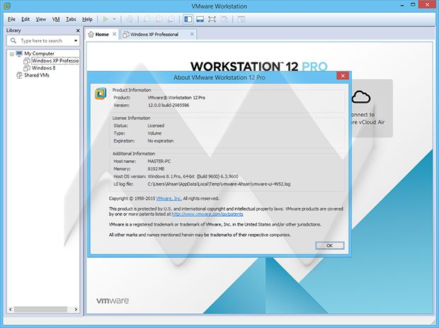 VMware Workstation Pro Full is the leading PC virtualization software that will take you to the next level of virtualization with comprehensive features