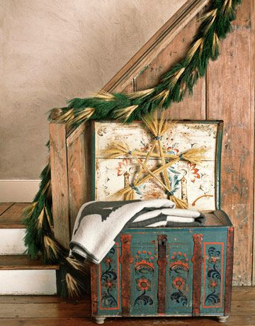 Swedish Decorating Interior designer Edie van Breems' home in Country Living magazine