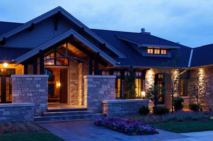 Modern Prairie Home  - Curt Hofer & Associates