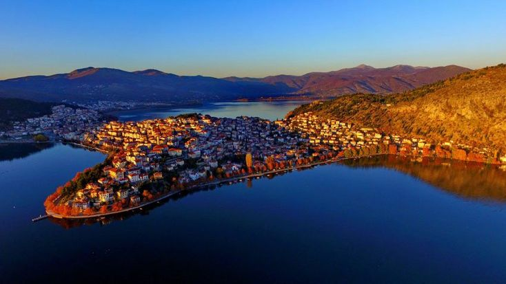 #kastoria , #Macedonia one of the most beautiful cities in #Greece  #travel #photography #naturephotography #nature #lakes #macedonian cities of Greece #macedonianplaces