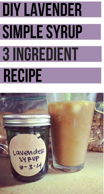 DIY Lavender Einfache Sirup + Iced Lavender Latte Rezept  – BLOGGERS – SHARE YOU…  – Best Coffee Ideen