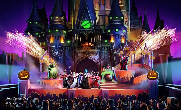"""An all-new """"Hocus Pocus Villain Spelltacular"""" show will bring extra Halloween fun to Mickey's Not-So-Scary Halloween Party when it returns to Magic Kingdom Park at Walt Disney World Resort in Fall 2015!"""