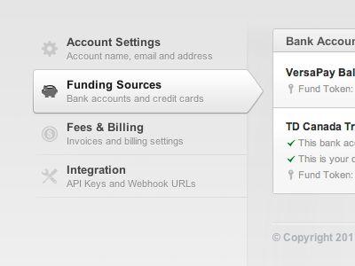 8 best Account Settings UI images on Pinterest Account settings - best of api blueprint url parameters