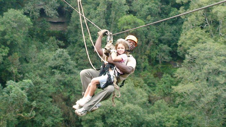 Drakensberg canopy tour