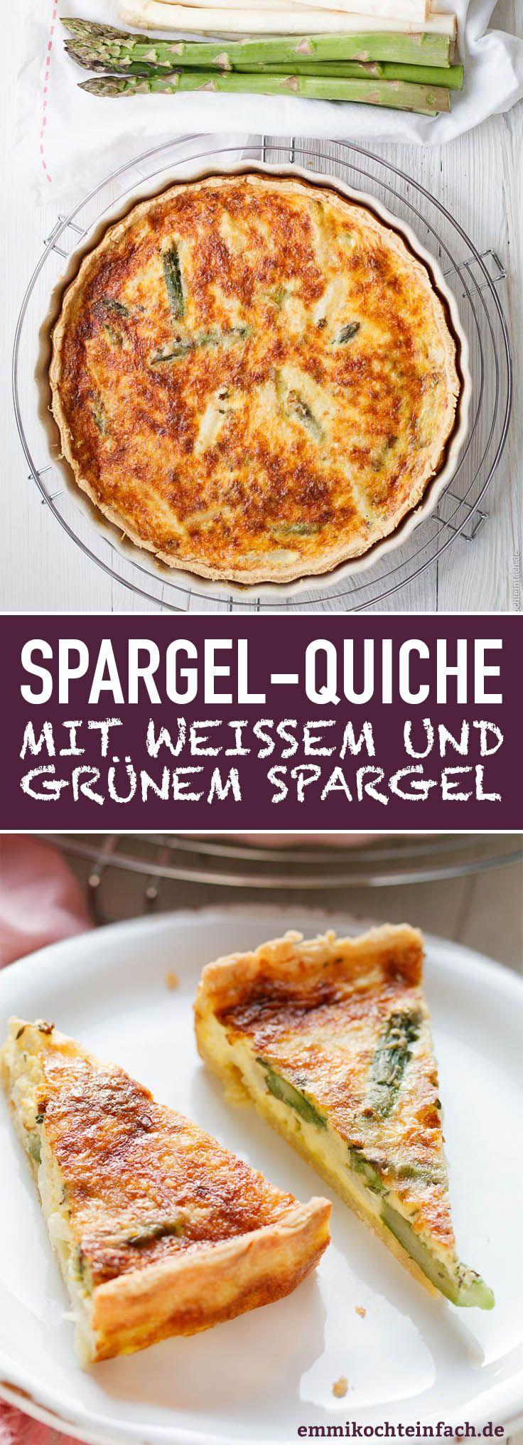 Spargelquiche - www.emmikochteinfach.de