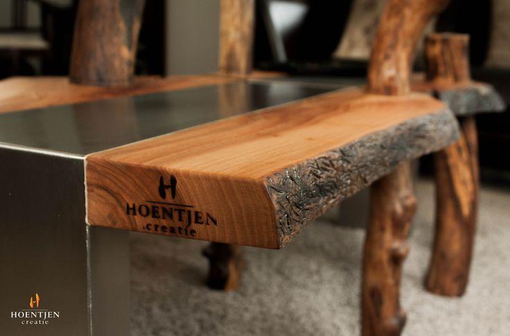 Organic Wood Design Furniture Branding Iron