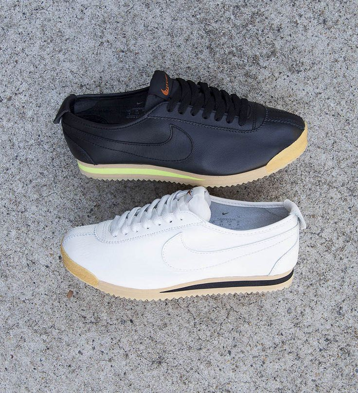 NIKE SPORTSWEAR CORTEZ 72 QS (WOMENS): Sail & Black | Available at HYPE