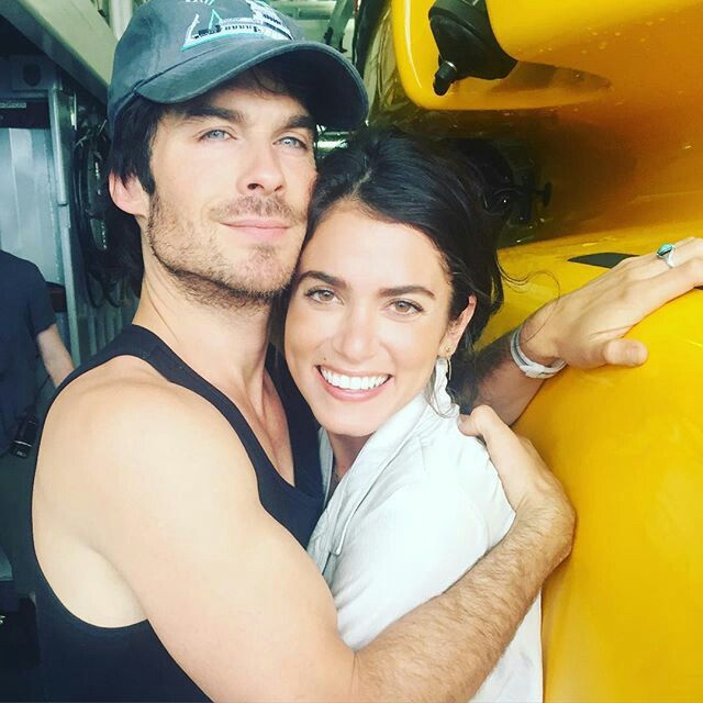 Ian Somerhalder and his wife
